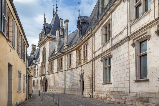 Street in Bourges, France