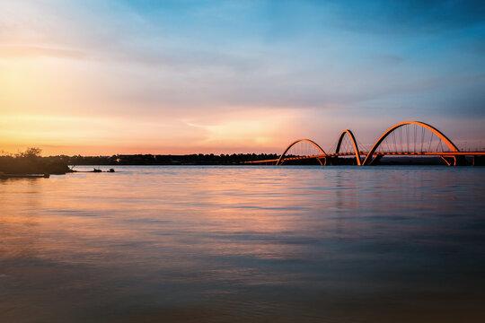 Ponte Jk - Sunset Brasilia