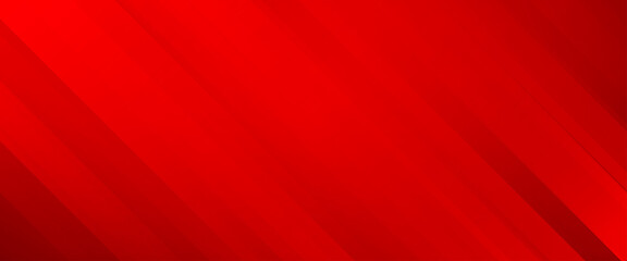 Obraz Abstract red vector background with stripes - fototapety do salonu