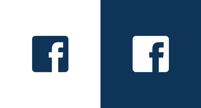 Facebook logo for web and mobile