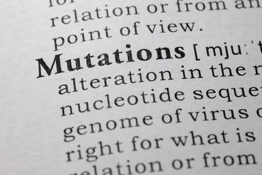 definition of mutations