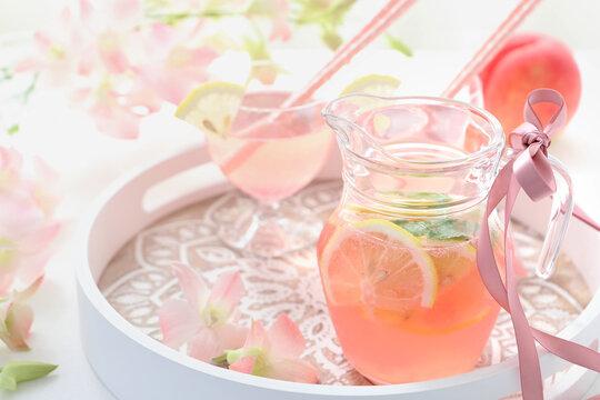 桃ドリンク 桃ジュース
