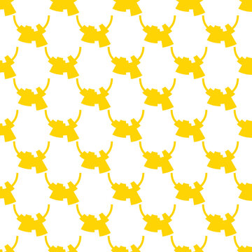 Seamless pattern of abstract shapes. Minimalists style background.