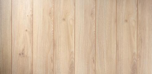 Obraz Laminate floor background texture. Wooden laminate floor or wood table top - fototapety do salonu