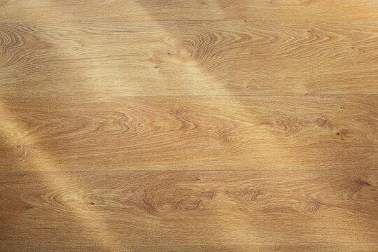 Laminate floor background texture. Wooden laminate floor or wood wall