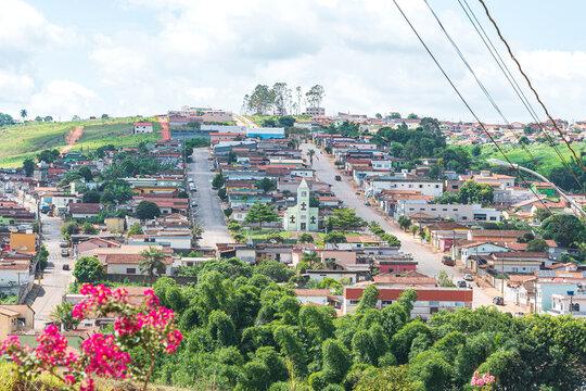 View of a small countryside city of São Roque de Minas - MG, Brazil. Eco tourism destination of Minas Gerais state state.