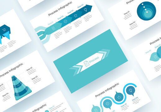 Process Infographic Presentation Layout