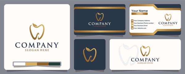 Fototapeta dental , logo design inspiration