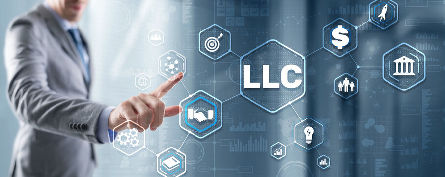 LLC. Limited Liability Company. Business Technology Internet