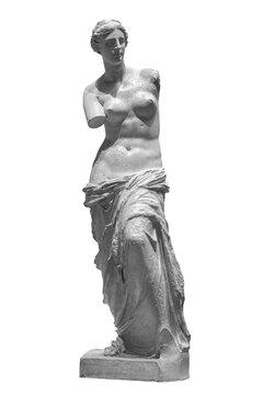 Aphrodite of Melos Venus de Milo statue in Louvre Paris