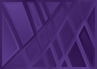 Violet Abstract Geometric Background Illustrator Wall mural