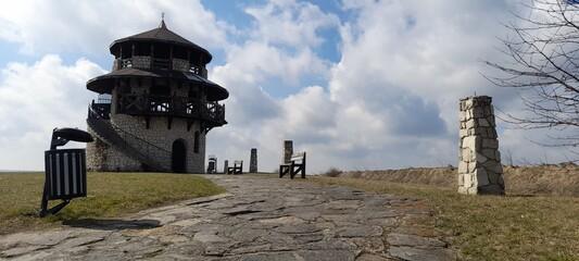Piękny krajobraz punkt widokowy Lubelszczyzna Susiec
