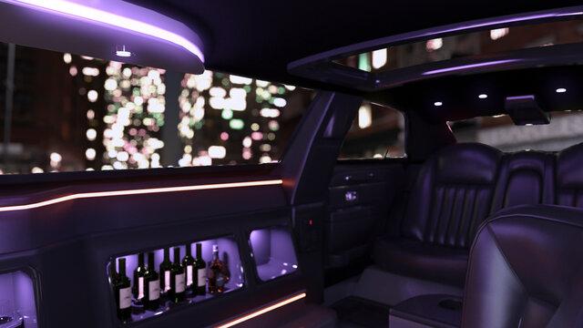 テレビ会議背景用 ZOOM会議背景用 テレビ会議用背景 ZOOM会議用背景 CG リムジン Limousine video conferencing