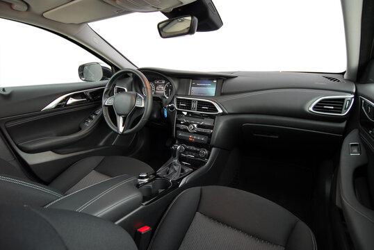Dashboard of a modern car