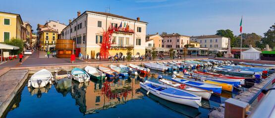 Bardolino, Hafen am Gardasee