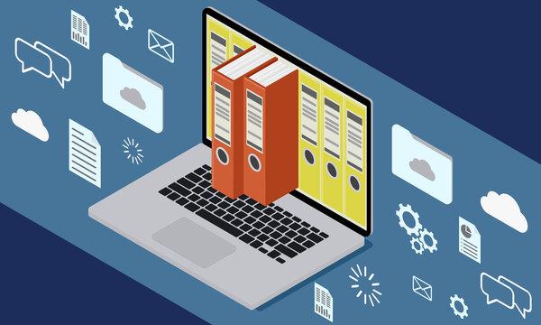 E-Akte Verwaltung OZG Papierloses Büro Behörde Digitalisierung