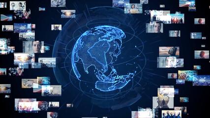 グローバルネットワーク ビジュアルコンテンツ