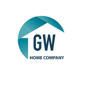 Initial Letter GW Home or Property Logo Design Template. Creative Property template logo