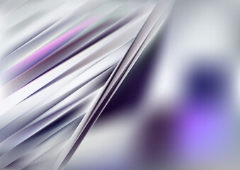 Abstract Purple and Grey Diagonal Shiny Lines Background Vector Art Wall mural