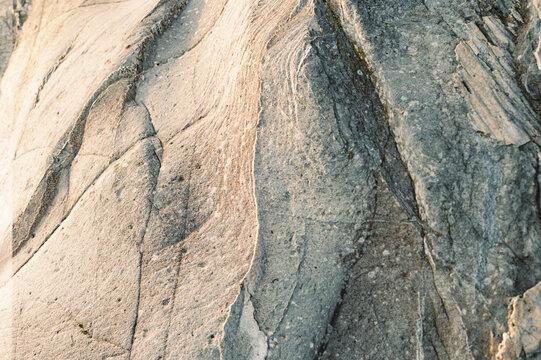 Close up of textured rock