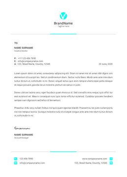 editable business wave letterhead template , minimalist simple letterhead template mock up, set folder for business. vector, polygonal style Letterhead and geometric triangular design style brochure