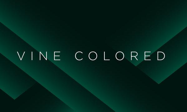 Minimalist green premium abstract background