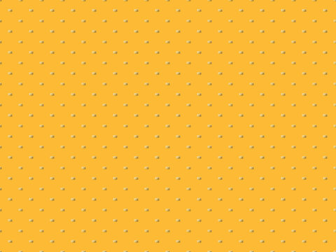 seamless pattern cakes yellow macaroon on a yellow background with copy space.