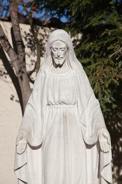 Jesus Christ statue in Los Gatos, California.
