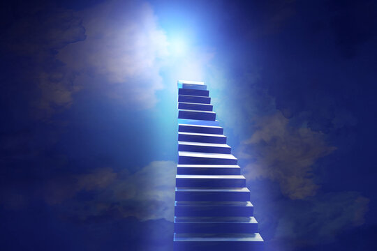 Stairway to Heaven. Steps to the sky.