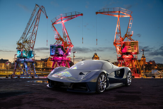 Lotus Evija is a limited production electric sports car to be manufactured by British automobile manufacturer Lotus Cars.