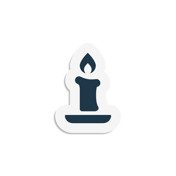 Candle - Sticker