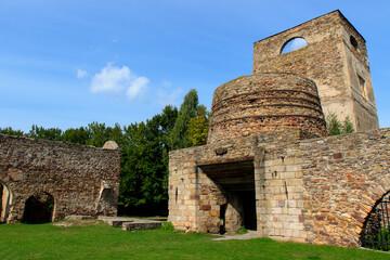 Fototapeta Samsonów - ruiny huty obraz
