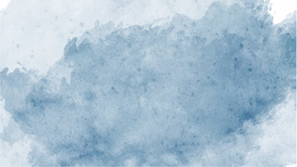 Fototapeta Blue watercolor background for textures backgrounds and web banners design