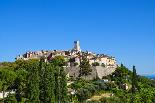 Saint Paul de Vence medieval village, South of France.