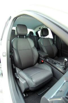 Front seats of a modern passenger car