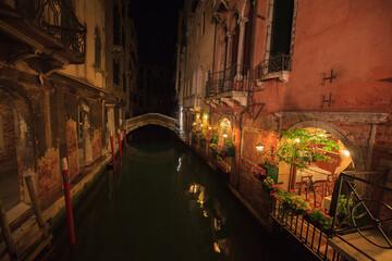 Fototapeta Wenecja nocą