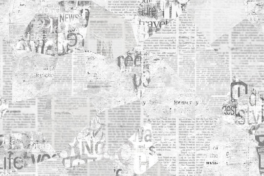Newspaper paper grunge vintage old aged texture background