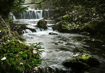 The small waterfall - Mały wodospad