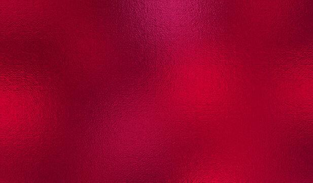 Red color background. Sparkle burgundy texture. Metallic effect. Claret glitter pattern. Crimson surface. Metal burgundy texture. Vinous backdrop for design wine, banners, covers, prints. Vector