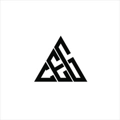 Obraz C E G letter logo creative design. CEG icon - fototapety do salonu