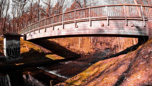 Brücke über die Löcknitz