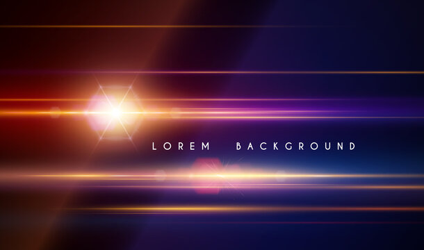 Abstract light lines effect background