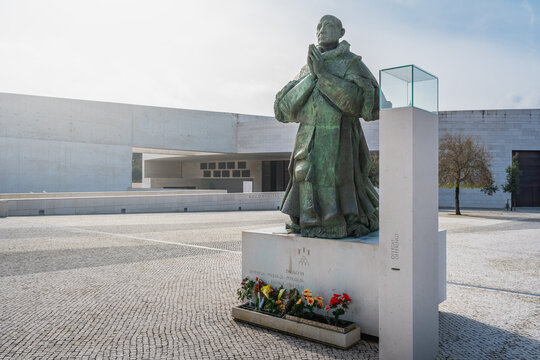 Pope Paul VI Monument at Sanctuary of Fatima - Fatima, Portugal