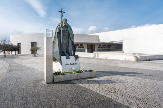 Pope John Paul II Monument at Sanctuary of Fatima - Fatima, Portugal