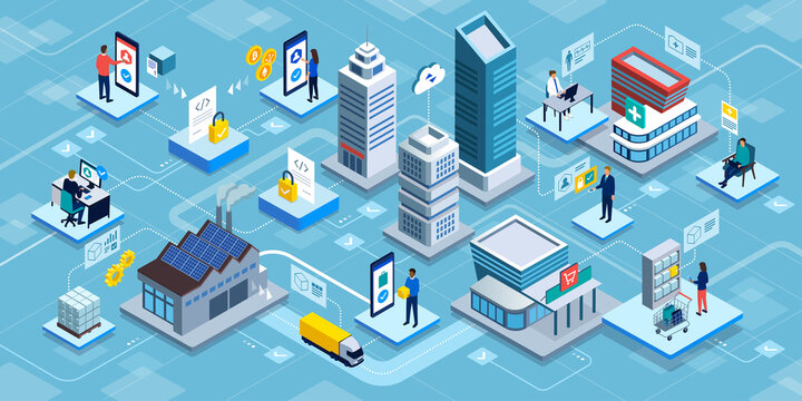 Blockchain applications and online services
