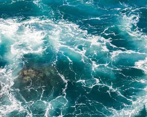 Obraz Fale, Fuerteventura  - fototapety do salonu