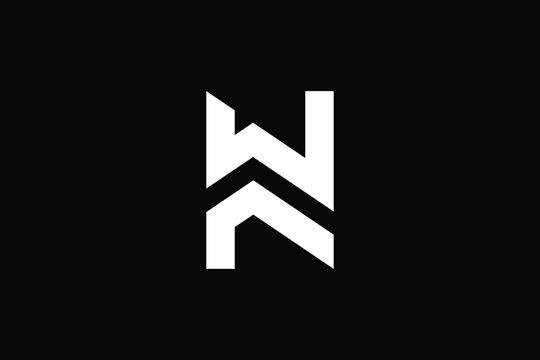 Creative Innovative Initial WF logo and FW logo. WF Letter Minimal luxury Monogram. FW Professional initial design. Premium Business typeface. Alphabet symbol and sign.
