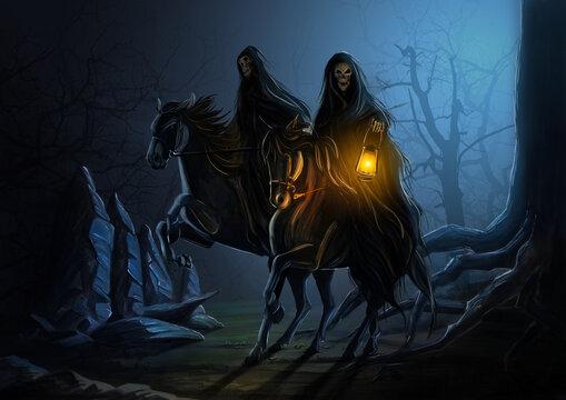 Dark riders