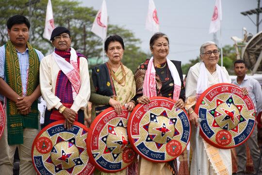 Bihu Function In Assam.