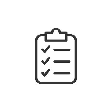 Simple delivery line icon.